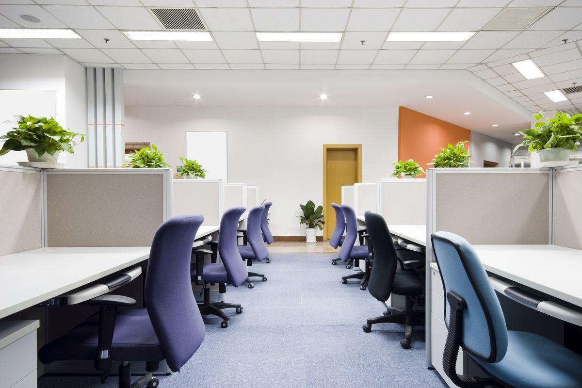 Дизайн освещения офиса